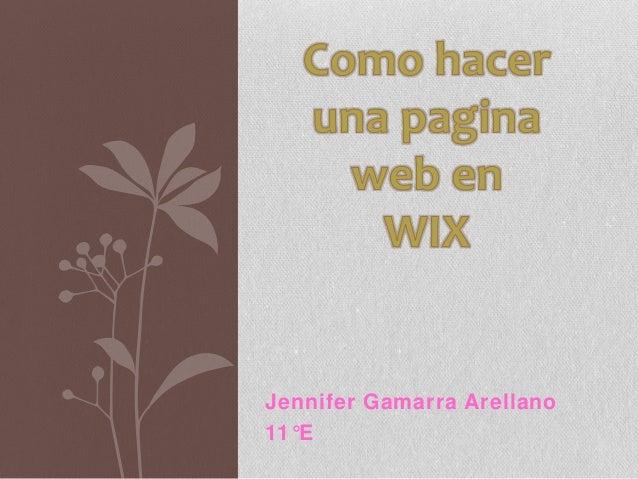 Como hacer una pagina web en wix for Como hacer una fachada minimalista