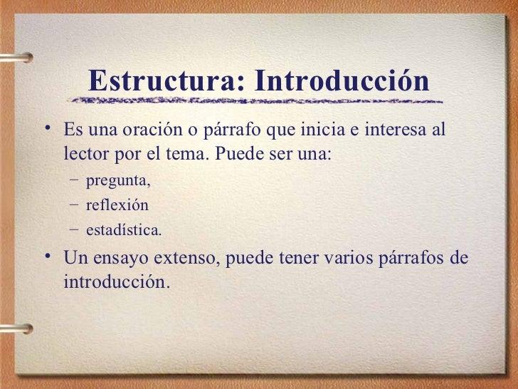 Como hacer una introduccion || Como se hace una introduccion