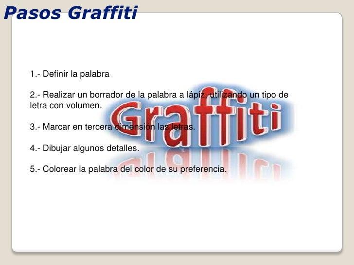Como hacer un graffiti - Como hacer un estor enrollable paso a paso ...