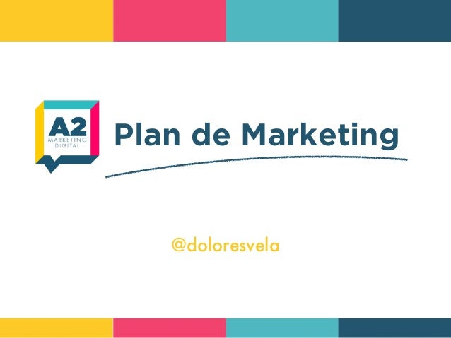 Plan de Marketing @doloresvela