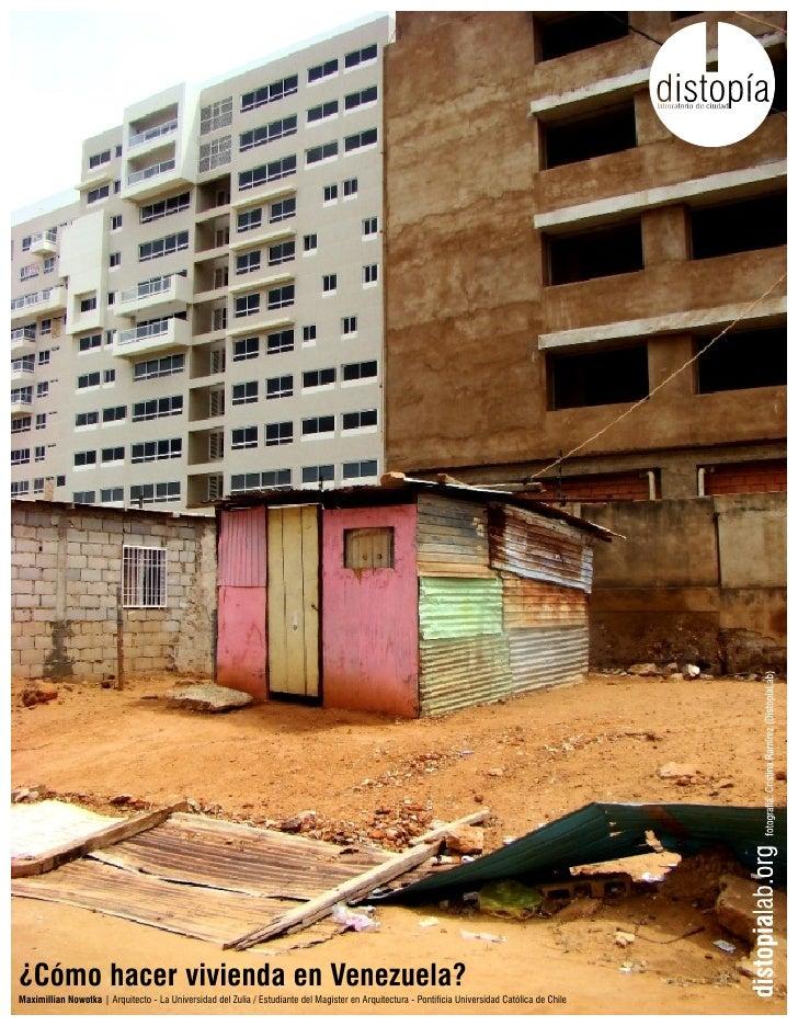 Como hacer vivienda en venezuela for Crear viviendas