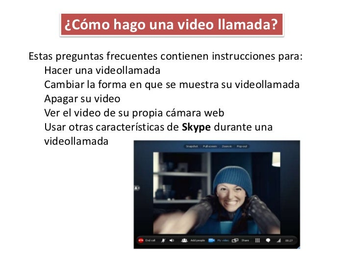 ¿Cómo hago una video llamada?Estas preguntas frecuentes contienen instrucciones para:   Hacer una videollamada   Cambiar l...