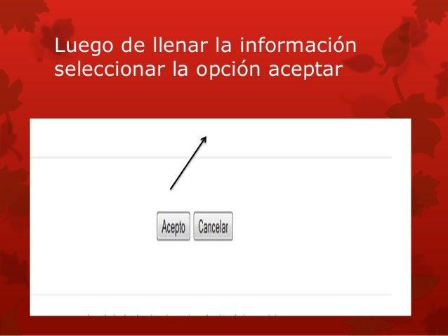 Des pus de oprimir el botón te saldrá.           tu correo electrónico
