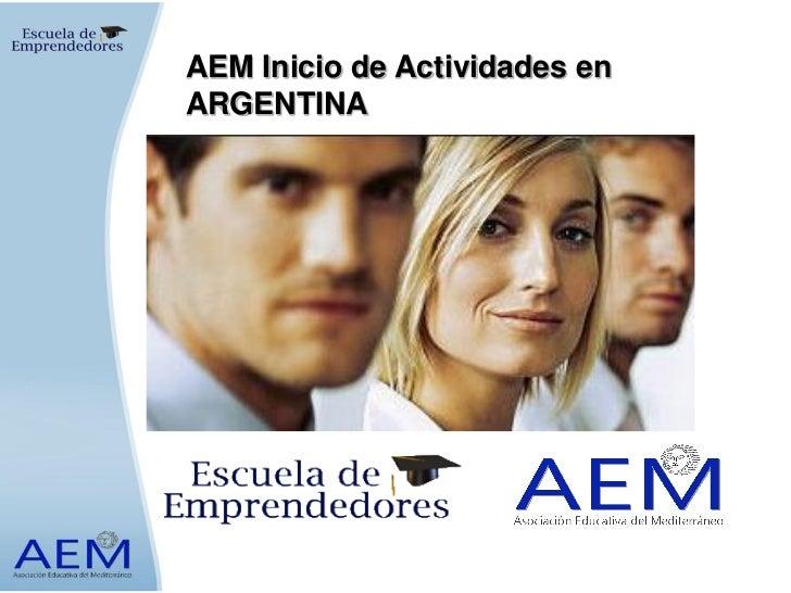 AEM Inicio de Actividades enARGENTINA