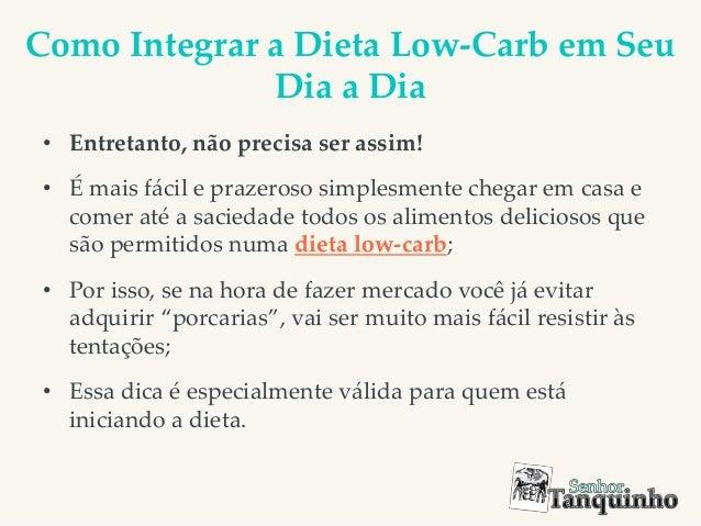 Suficiente Como inciar e triunfar em uma dieta low carb MD33