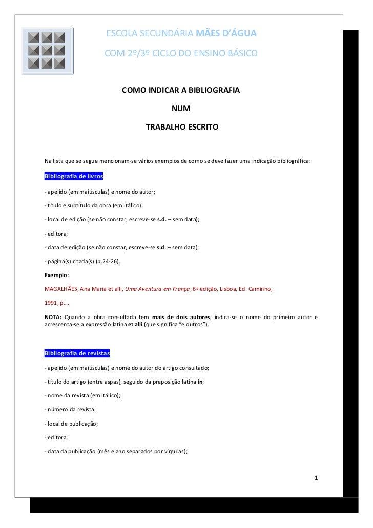ESCOLA SECUNDÁRIA MÃES D'ÁGUA                         COM 2º/3º CICLO DO ENSINO BÁSICO                                   C...