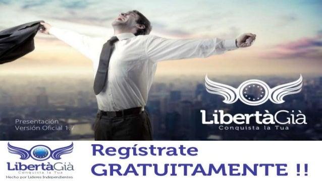 SIN MAS PREÁMBULOS AHORA TE ENSEÑARÉ A  REGISTRARTE  Ingresa a cualquiera de los siguientes links  http://libertagia.com/m...