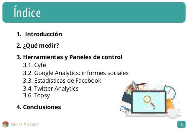 Como medir la influencia de tu empresa en las redes sociales Slide 2