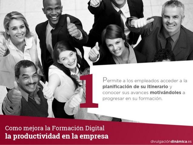 Como mejora la formación digital la productividad en la empresa