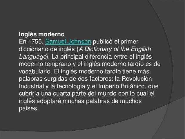 Como Nacio El Idioma Ingles
