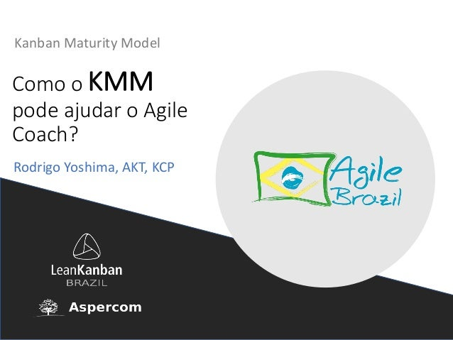 ComooKMM podeajudaroAgile Coach? Kanban Maturity Model RodrigoYoshima,AKT,KCP