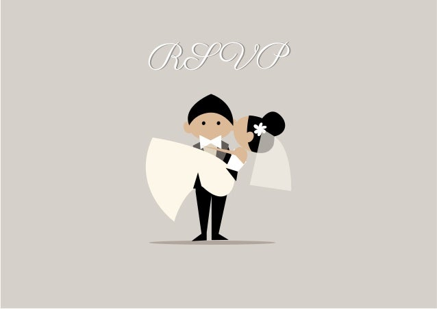 """O RSVP (Répondez S'il Vous Plaît, expressão francesa que significa """"responda por favor"""") é fundamental para o casal ter noç..."""