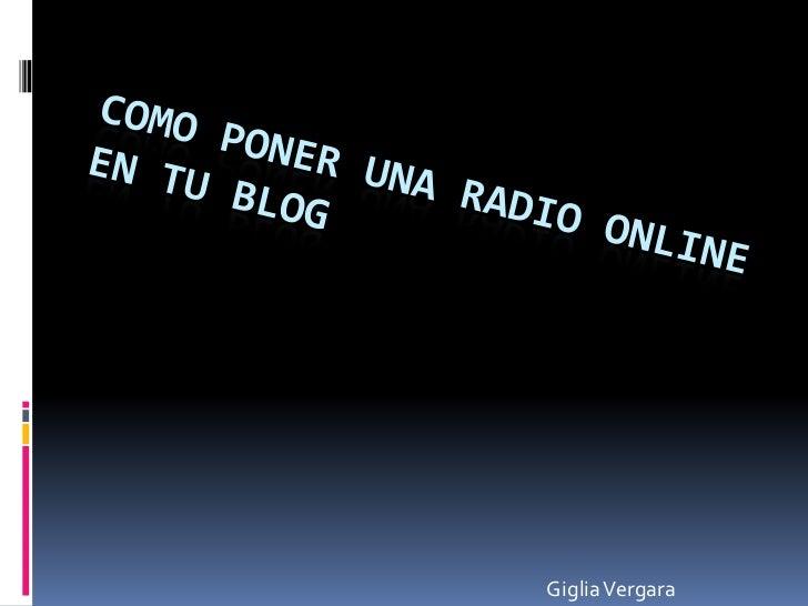 Giglia Vergara