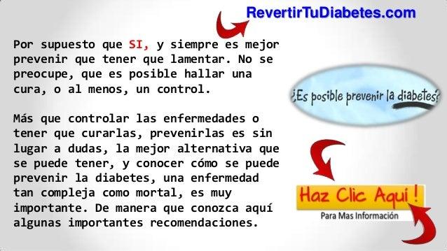 Como Prevenir La Diabetes ! Los Mejores Consejos Para