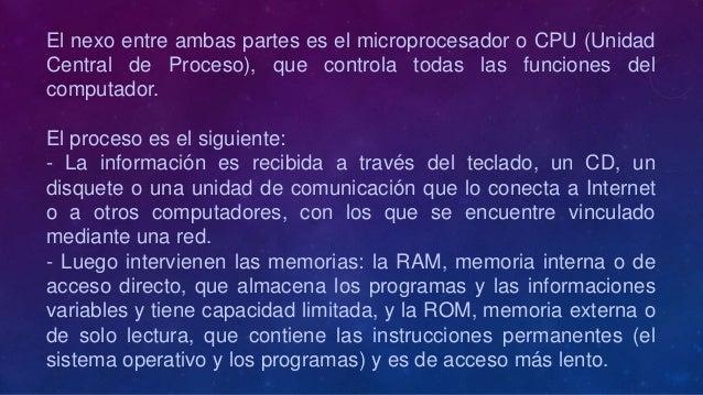 Como procesa un computador la información Slide 3