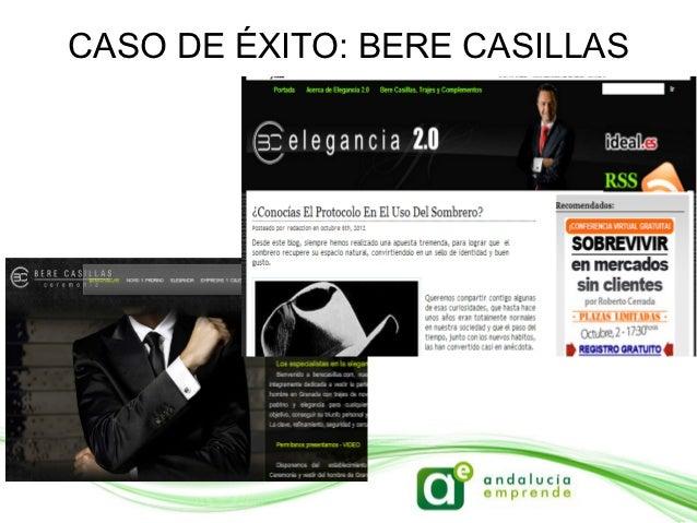 CASO DE ÉXITO: BERE CASILLAS              - Participación activa              - Informa sobre                 novedades   ...