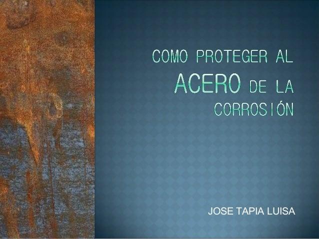 JOSE TAPIA LUISA