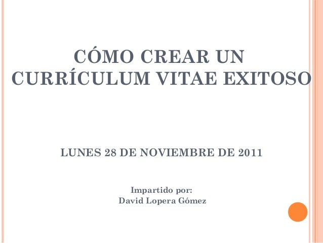 Como Se Hace Un Curriculum Vitae Ejecutivo Help With Writing Essays
