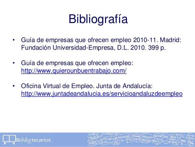 C mo redactar un cv biblogtecarios for Oficina virtual junta de andalucia
