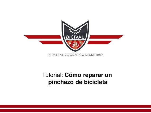 Tutorial: Cómo reparar un pinchazo de bicicleta
