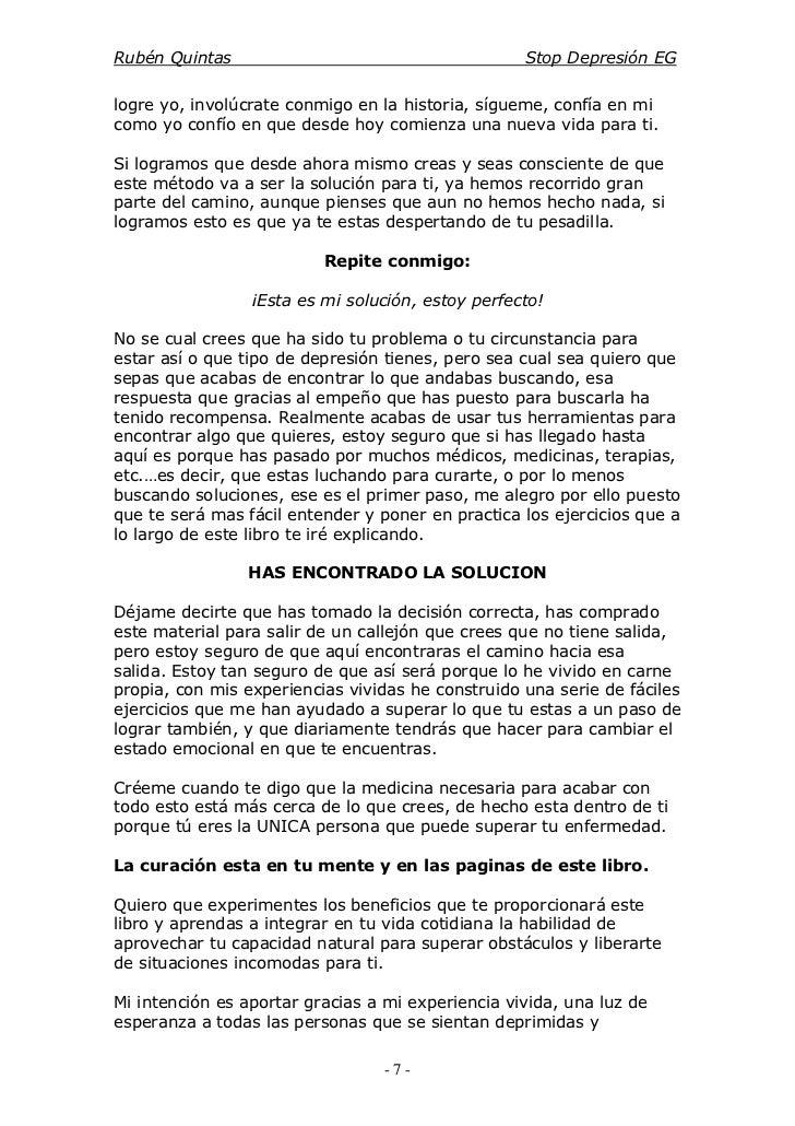 Stop depresion ruben quintas