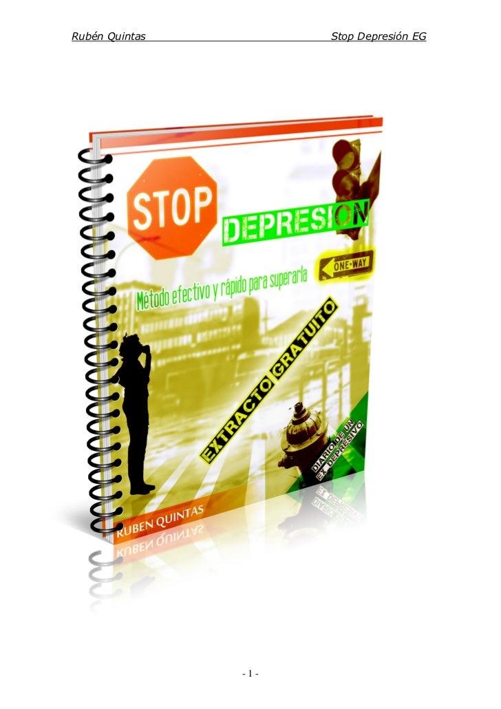 Rubén Quintas         Stop Depresión EG                -1-