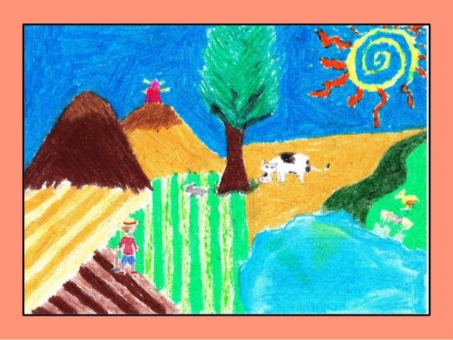 Paisajes Para Dibujar A Color Faciles: Como Se Dibuja Un Paisaje