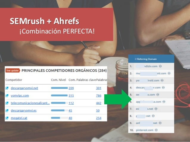 SEMrush + Ahrefs ¡Combinación PERFECTA!