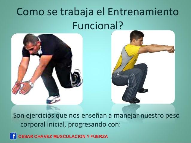 entrenamiento funcional progresiones de entrenamiento