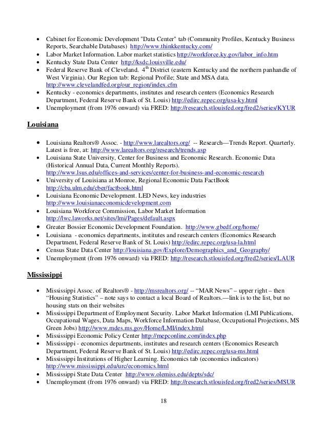 Kentucky Career Center Labor Market Information