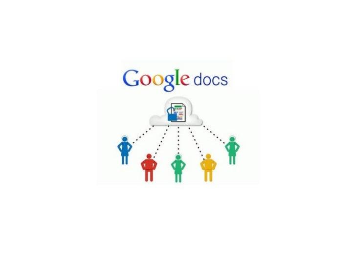 Google Docs permite crear, almacenar y compartir documentos y                         archivos online                     ...