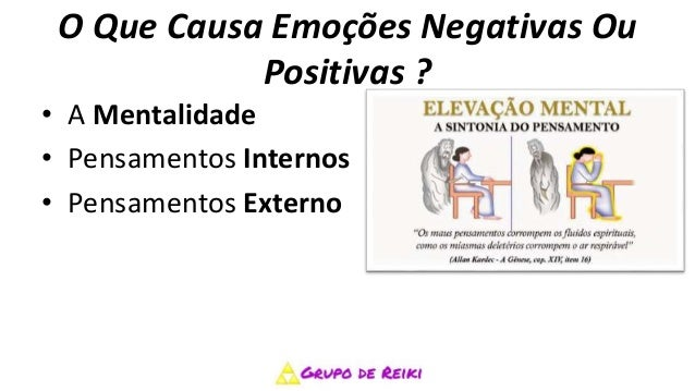 Como transformar emoções negativa em positivas com reiki Slide 2
