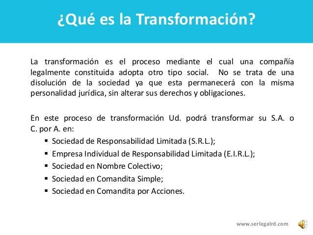 Como Transformar una Empresa en Republica Dominicana - photo#34
