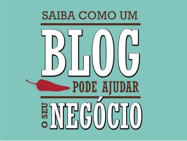 Como um blog pode ajudar o seu negócio