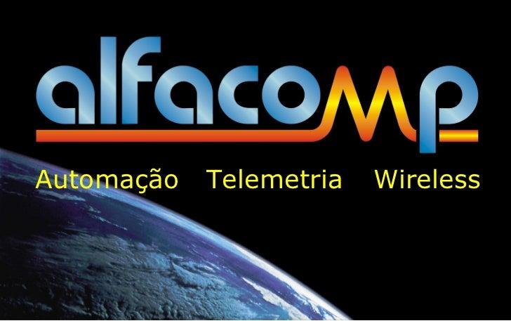Automação Telemetria Wireless