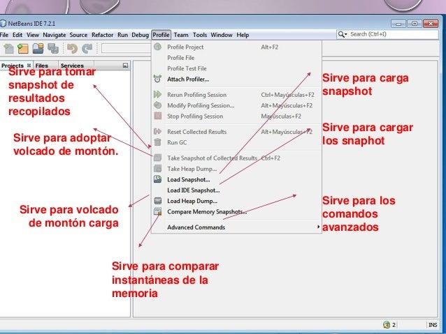 Sirve para ver los proyectos Sirve para ver los archivos. Sirve para ver las acciones de los elementos. Aquí podemos ver l...