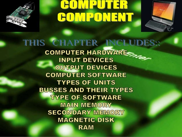    Computer hardware equals the collection of physical    elements that comprise a computer system. Computer    hardware ...
