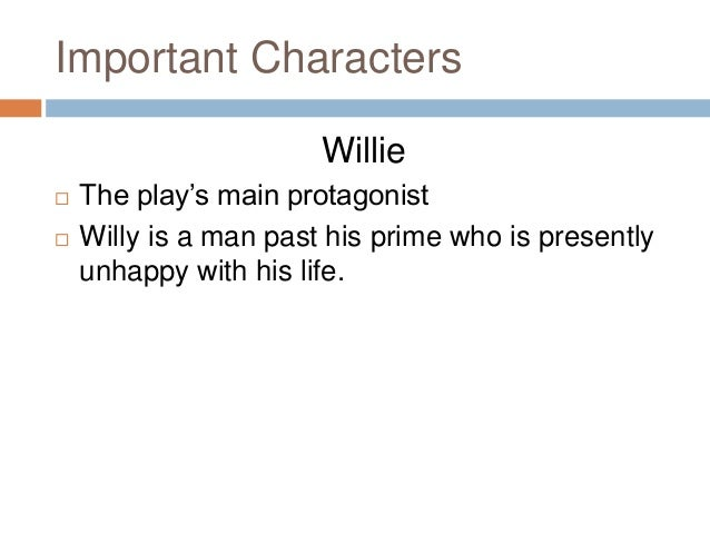 who is the protagonist in death of a salesman