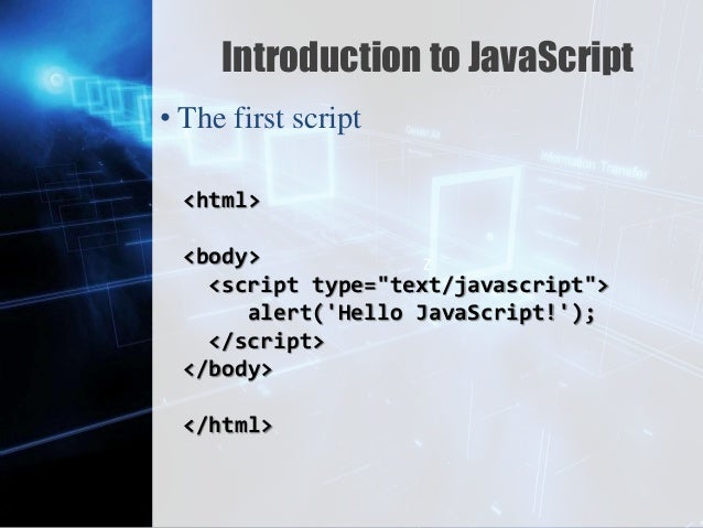 introduction to javascript Javascript in hp service manager provides the ability to query, insert, update, and delete database records, and to make use of existing rad variables.