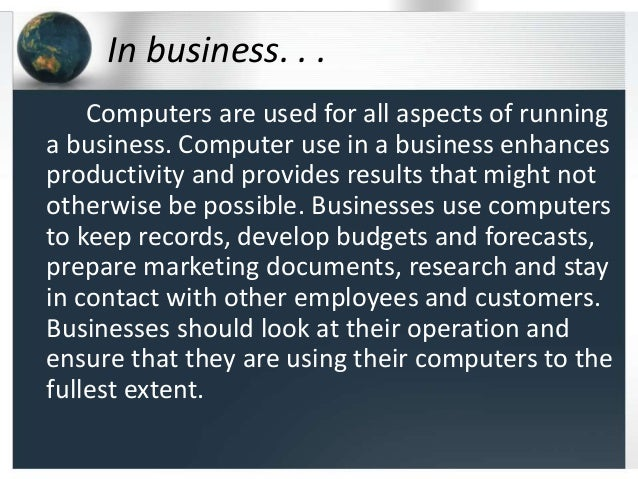 Small Business Tech Notes