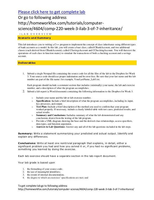 Please click here to get complete labOr go to following addresshttp://homeworkfox.com/tutorials/computer-science/4604/comp...