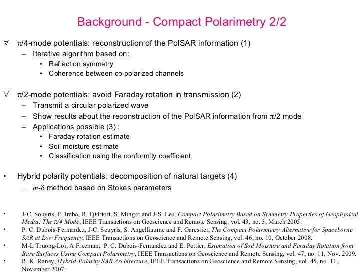 Compact Polarimetry Potentials ppt