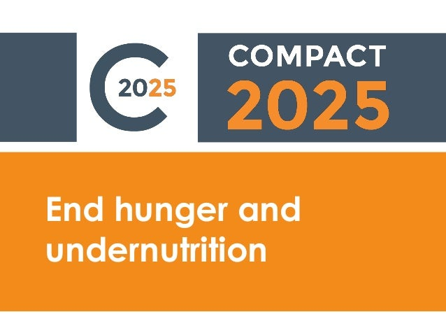 End hunger and undernutrition
