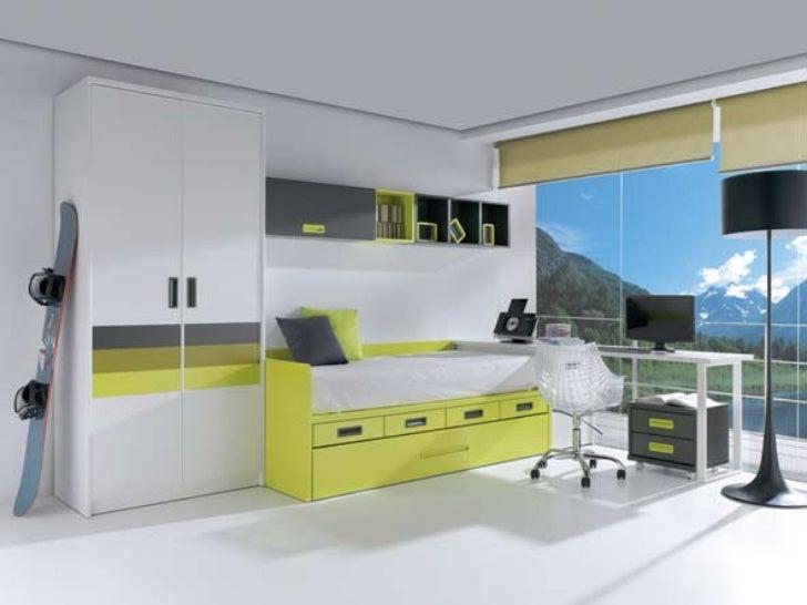 dormitorios compactos juveniles modernos