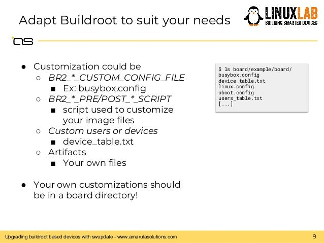Angelo Compagnucci - Upgrading buildroot based devices with