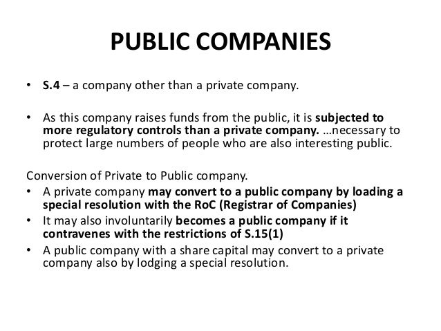 Companies (Limited By Share, Guarantee, etc )