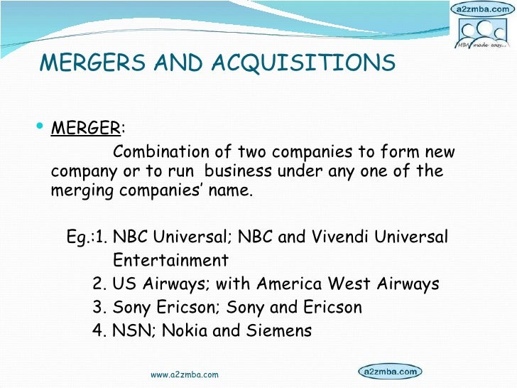 merger nd acquisition conclusion Essays in corporate mergers and acquisitions by qianying xu a thesis submitted in partial fulfillment of the requirements for the doctor of philosophy.