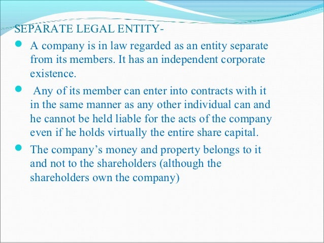 LIMITED LIABILITY-A company may be a company limited by shares or a  company limited by guarantee. In a company limited  ...