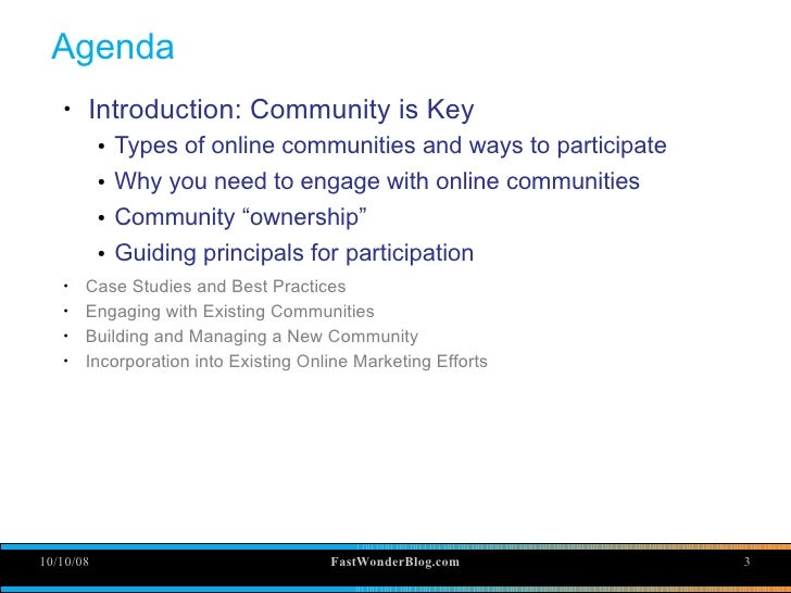 Companies And Communities: Participating without being sleazy Slide 3