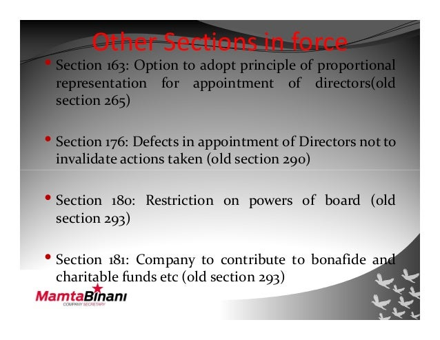 an analysis of under section 4 of the companies act